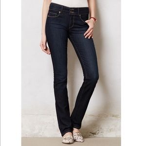 Anthropologie PAIGE Hidden Hills Straight Jeans